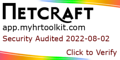 Myhrtoolkit Ltd. is Audited by Netcraft